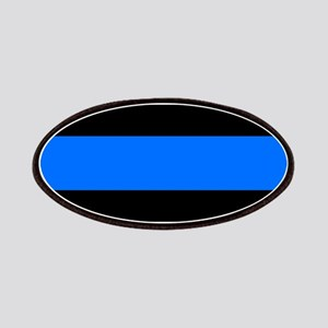 thin blue line r Patch