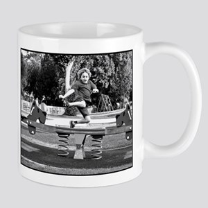 Playground Frolic - monochrome 8:10 - Mugs