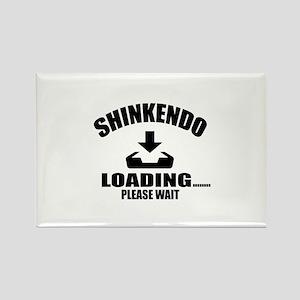Shinkendo Loading Please Wait Rectangle Magnet
