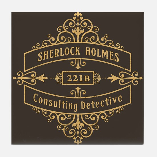 Consulting Detective Tile Coaster