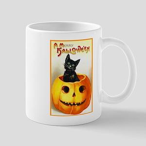 Jackolantern Black Cat Mug