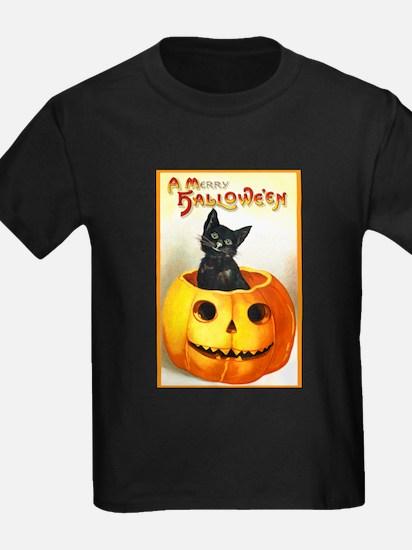 Jackolantern Black Cat (Front) T