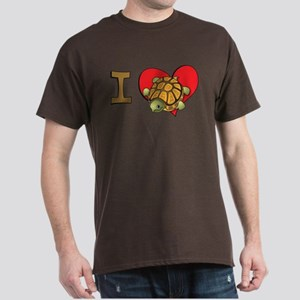 I heart turtles Dark T-Shirt