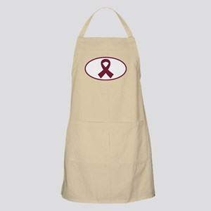 Burgundy Multiple Myeloma Apron