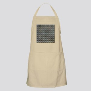 Argent Grey Abstract Low Polygon Background Apron