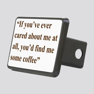 A Gail Quote Rectangular Hitch Cover