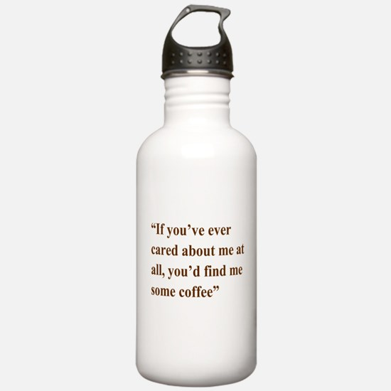A Gail Quote Water Bottle