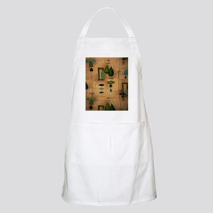 Atomic Age in Gold Apron