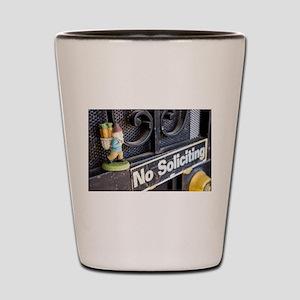 No Soliciting Gnome Shot Glass