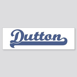 Dutton (sport-blue) Bumper Sticker