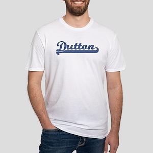 Dutton (sport-blue) Fitted T-Shirt