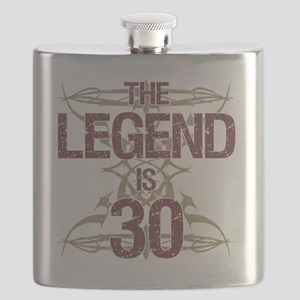 Men's Funny 30th Birthday Flask