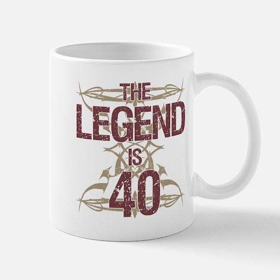 Men's Funny 40th Birthday Mugs