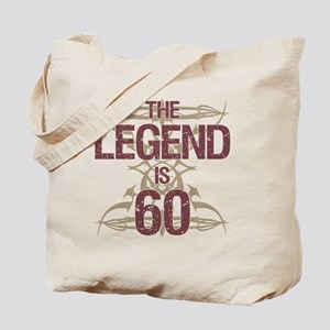 Men's Funny 60th Birthday Tote Bag