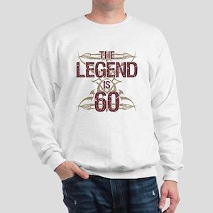 Men's Funny 60th Birthday Sweatshirt