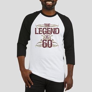 Men's Funny 60th Birthday Baseball Jersey