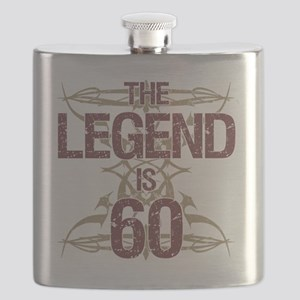Men's Funny 60th Birthday Flask