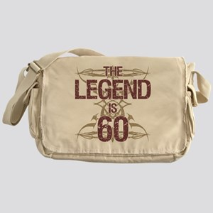 Men's Funny 60th Birthday Messenger Bag