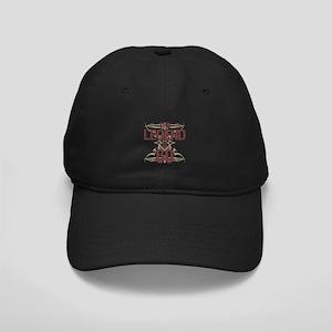 Men's Funny 60th Birthday Black Cap