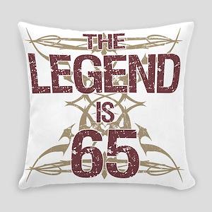 Men's Funny 65th Birthday Everyday Pillow