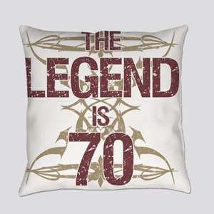 Men's Funny 70th Birthday Everyday Pillow