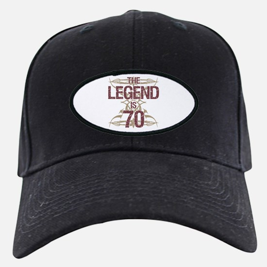 Men's Funny 70th Birthday Baseball Hat