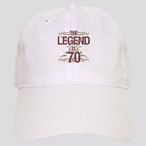 Mens Funny 70th Birthday Cap