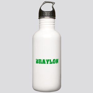 Braylon Name Weathered Stainless Water Bottle 1.0L