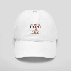 Men's Funny 75th Birthday Cap