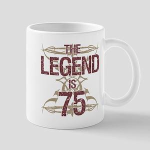 Men's Funny 75th Birthday Mugs