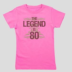 Mens Funny 80th Birthday Girls Tee