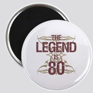 Men's Funny 80th Birthday Magnet
