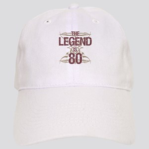 Men's Funny 80th Birthday Cap