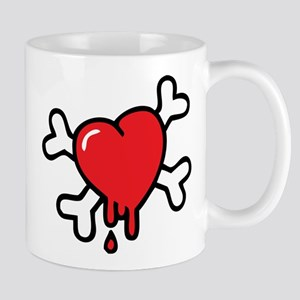 Funny Valentine Red... Mugs