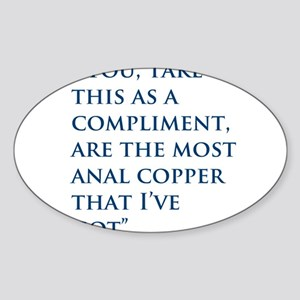 An Oliver Quote Sticker