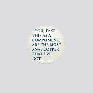 An Oliver Quote Mini Button