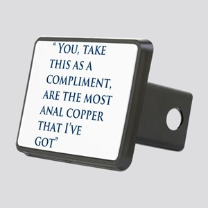 An Oliver Quote Rectangular Hitch Cover
