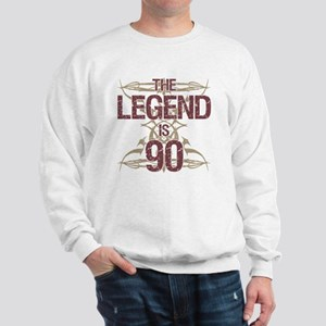 Men's Funny 90th Birthday Sweatshirt