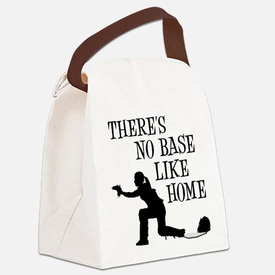 NO BASE LIKE HOME Canvas Lunch Bag