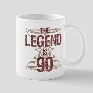Men's Funny 90th Birthday Mugs