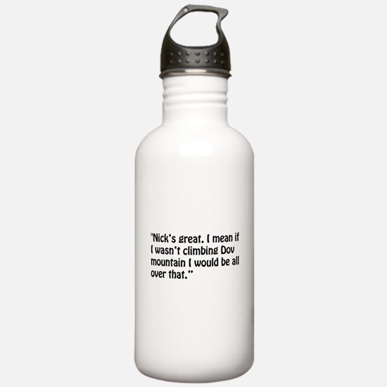 A Chloe Quote Water Bottle