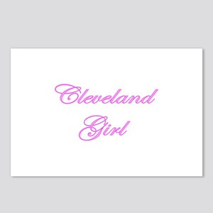 Cleveland Girl Postcards (Package of 8)