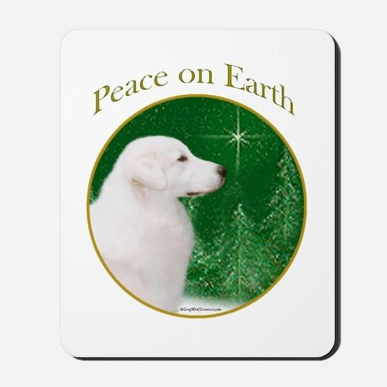 Kuvasz Peace Mousepad