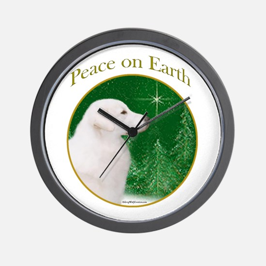 Kuvasz Peace Wall Clock