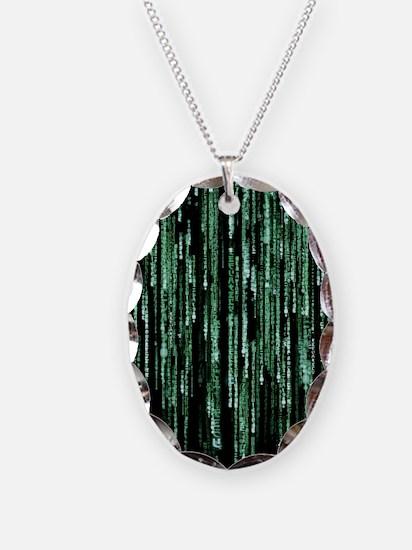 Matrix Code Necklace