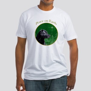 Black Lab Peace Fitted T-Shirt