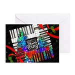 """""""The Artist"""" (pack Of 10) Greeting Cards"""