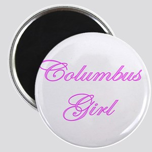 Columbus Girl Magnet