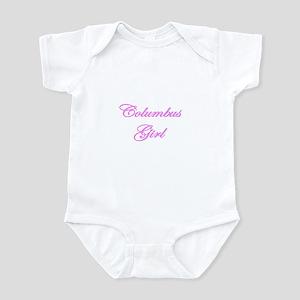 Columbus Girl Infant Bodysuit