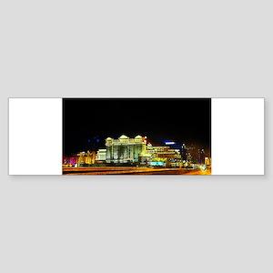 Las Vegas Lights Bumper Sticker